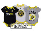 Columbus Crew SC adidas MLS Infant Hat Trick Creeper Set Infant Apparel