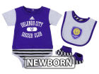 Orlando City SC adidas MLS Newborn Mismatch Essentials Set Infant Apparel