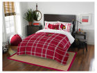 Louisville Cardinals The Northwest Company Full Comforter Plaid Set Bed & Bath