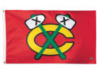 Chicago Blackhawks Wincraft 3x5 Deluxe Flag Flags & Banners