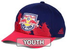 New York Red Bulls adidas MLS Kids Goal Scorer Adjustable Cap Hats