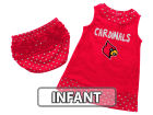 Louisville Cardinals Colosseum NCAA Infant Girls Heartbeat Dress Set Infant Apparel