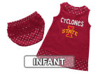 Iowa State Cyclones Colosseum NCAA Infant Girls Heartbeat Dress Set Infant Apparel