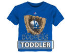 Los Angeles Dodgers Majestic MLB Toddler Baseball Mitt T-Shirt T-Shirts