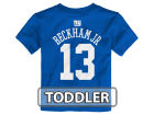 New York Giants Odell Beckham Jr. Outerstuff NFL Toddler Mainliner Player T-Shirt T-Shirts