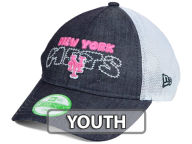 New Era MLB Youth Denim Stitcher 9TWENTY Cap Adjustable Hats