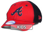 Atlanta Braves New Era MLB Jr Team Front Neo 39THIRTY Cap Stretch Fitted Hats