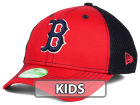 Boston Red Sox New Era MLB Jr Team Front Neo 39THIRTY Cap Stretch Fitted Hats