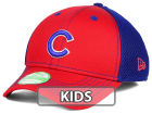 Chicago Cubs New Era MLB Jr Team Front Neo 39THIRTY Cap Stretch Fitted Hats