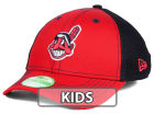 Cleveland Indians New Era MLB Jr Team Front Neo 39THIRTY Cap Stretch Fitted Hats