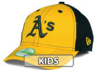 Oakland Athletics New Era MLB Jr Team Front Neo 39THIRTY Cap Stretch Fitted Hats