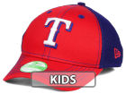 Texas Rangers New Era MLB Jr Team Front Neo 39THIRTY Cap Stretch Fitted Hats