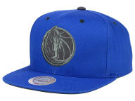 Mitchell and Ness NBA Grey Tonal Logo Snapback Cap Adjustable Hats