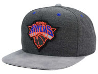 Mitchell and Ness NBA Cation Perforated Suede Snapback Cap Adjustable Hats