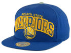 Golden State Warriors Mitchell and Ness NBA Reflective Tri Pop Snapback Cap Adjustable Hats