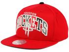 Houston Rockets Mitchell and Ness NBA Reflective Tri Pop Snapback Cap Adjustable Hats