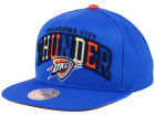 Oklahoma City Thunder Mitchell and Ness NBA Reflective Tri Pop Snapback Cap Adjustable Hats