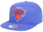 New York Knicks Mitchell and Ness NBA Dotted Cotton Snapback Cap Adjustable Hats