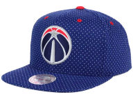 Mitchell and Ness NBA Dotted Cotton Snapback Cap Adjustable Hats