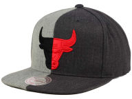 Mitchell and Ness NBA Split Heather Snapback Cap Adjustable Hats