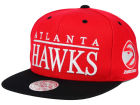 Atlanta Hawks Mitchell and Ness NBA Top Shelf Snapback Cap Adjustable Hats