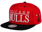 Chicago Bulls Mitchell and Ness NBA Top Shelf Snapback Cap Adjustable Hats