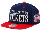 Houston Rockets Mitchell and Ness NBA Top Shelf Snapback Cap Adjustable Hats