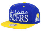 Indiana Pacers Mitchell and Ness NBA Top Shelf Snapback Cap Adjustable Hats