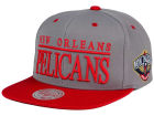New Orleans Pelicans Mitchell and Ness NBA Top Shelf Snapback Cap Adjustable Hats