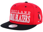 Portland Trail Blazers Mitchell and Ness NBA Top Shelf Snapback Cap Adjustable Hats