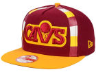 Cleveland Cavaliers New Era NBA Logo Mural Snap 9FIFTY Cap Adjustable Hats