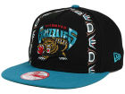Vancouver Grizzlies New Era NBA Logo Mural Snap 9FIFTY Cap Adjustable Hats