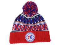 Mitchell and Ness NBA Tribal HI 5 Pom Beanie Knit Hats
