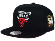 Mitchell and Ness NBA 50th Anniversary Snapback Hat Adjustable Hats