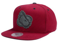 Mitchell and Ness NHL Grey Tonal Logo Snapback Cap Adjustable Hats