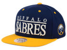 Buffalo Sabres Mitchell and Ness NHL Top Shelf Snapback Cap Adjustable Hats