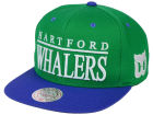 Hartford Whalers Mitchell and Ness NHL Top Shelf Snapback Cap Adjustable Hats