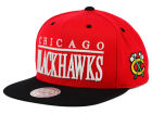 Chicago Blackhawks Mitchell and Ness NHL Top Shelf Snapback Cap Adjustable Hats