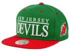 New Jersey Devils Mitchell and Ness NHL Top Shelf Snapback Cap Adjustable Hats