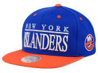 New York Islanders Mitchell and Ness NHL Top Shelf Snapback Cap Adjustable Hats