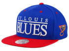 St. Louis Blues Mitchell and Ness NHL Top Shelf Snapback Cap Adjustable Hats
