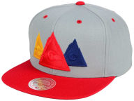 Mitchell and Ness NHL Triple Color Stack Snapback Cap Adjustable Hats