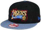 Philadelphia 76ers New Era NBA HWC Heather Action 9FIFTY Snapback Cap Adjustable Hats