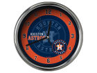 Houston Astros Chrome Clock II Home Office & School Supplies