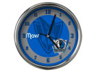 Dallas Mavericks Chrome Clock II Home Office & School Supplies