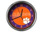 Clemson Tigers Chrome Clock II Home Office & School Supplies