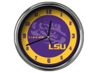 LSU Tigers Chrome Clock II Home Office & School Supplies