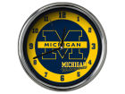Michigan Wolverines Chrome Clock II Home Office & School Supplies