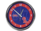 Mississippi Rebels Chrome Clock II Home Office & School Supplies