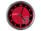 North Carolina State Wolfpack Chrome Clock II Home Office & School Supplies